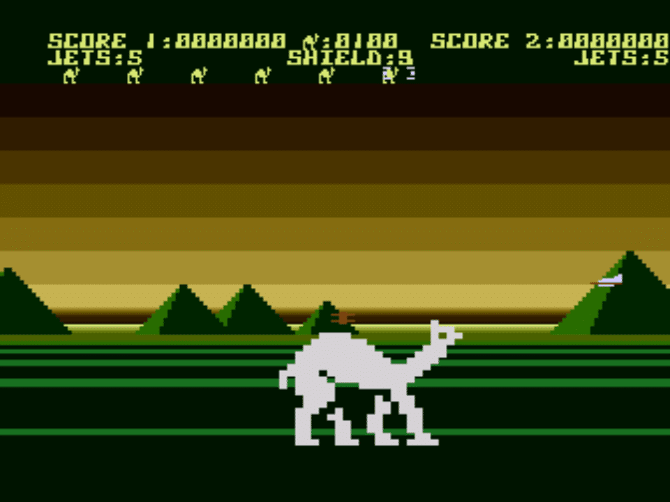 Legale Atari/C64 ROMs – Attack of the Mutant Camels